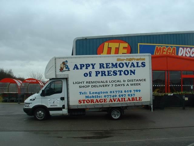 Removals Preston